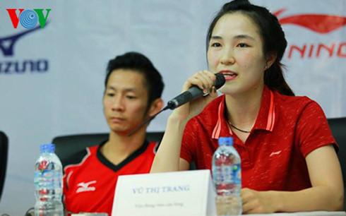 Vũ Thị Trang vào chung kết giải cầu lông quốc tế Bangladesh 2016