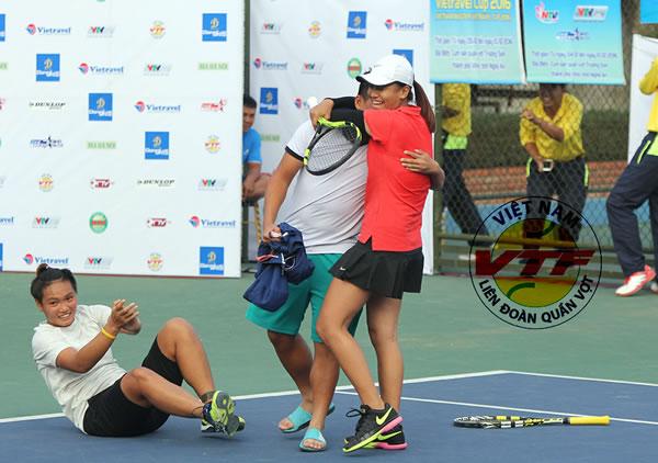 Quần vợt Đà Nẵng giành 1 HCV, 2 HCB tại giải các tay vợt xuất sắc toàn quốc