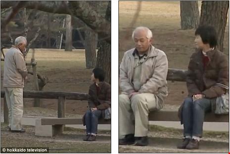 Chương trình đã tổ chức một cuộc gặp tại công viên nơi họ có cuộc hẹn hò đầu tiên.