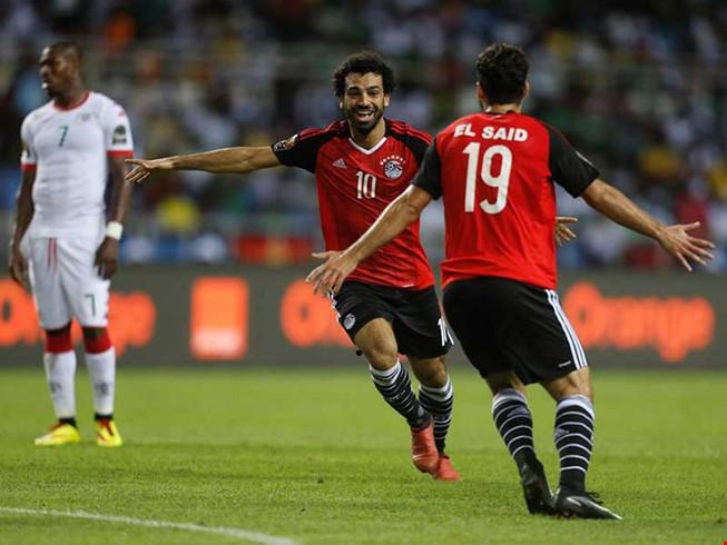 Ai Cập nhắm lần thứ 6 lên ngôi vô địch Cúp châu Phi