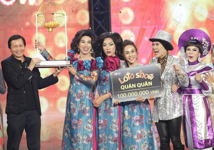 Đoàn Sài Gòn Tân Thời xuất sắc đoạt giải Quán quân Lô tô show
