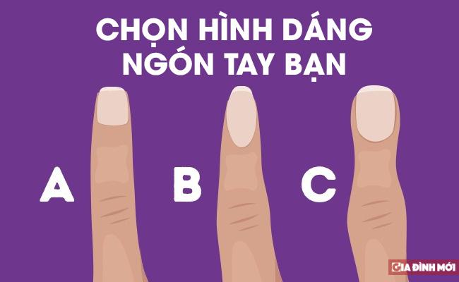 Nhân tướng học: Hình dạng ngón tay nói lên điều gì về tính cách của bạn?