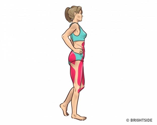 Chỉ với 3 phút trước khi ngủ, thực hiện bài tập đơn giản này đôi chân của bạn sẽ thon và thẳng tắp